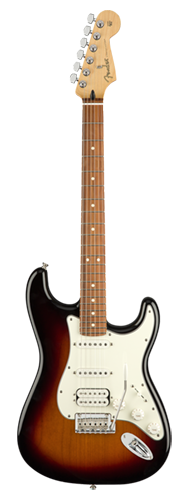GUITARRA FENDER PLAYER STRATOCASTER HSS PF 014-4523-500 3-COLOR SUNBURST