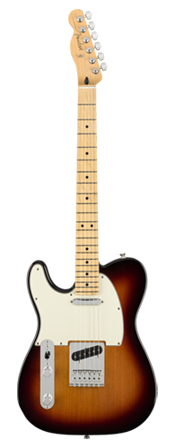 GUITARRA FENDER PLAYER TELECASTER LH MN 014-5222-500 3-COLOR SUNBURST