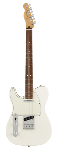 GUITARRA FENDER PLAYER TELECASTER LH PF 014-5223-515 POLAR WHITE