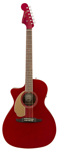 VIOLÃO FENDER NEWPORTER PLAYER LH 097-0748-009 CANDY APPLE RED