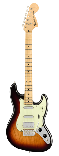 GUITARRA FENDER THE SIXTY-SIX MN 014-5022-300 3-COLOR SUNBURST