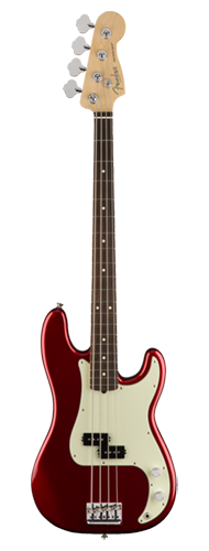 CONTRABAIXO FENDER AM PROFESSIONAL PRECISION BASS ROSEWOOD 019-3610-709 CANDY APPLE RED