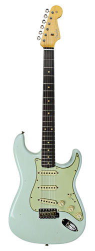GUITARRA FENDER 59 STRATOCASTER JOURNEYMAN RELIC LTD EDITION 923-5000-911 SUPER FADED ASNB