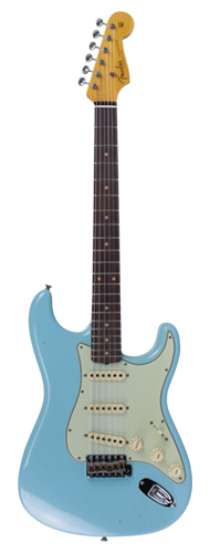 GUITARRA FENDER 59 STRATOCASTER JOURNEYMAN RELIC LTD EDITION 923-5000-920 AGED DAPHNE BLUE