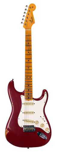 GUITARRA FENDER 65 STRATOCASTER RELIC LTD EDITION 923-5000-933 AGED DAKOTA RED