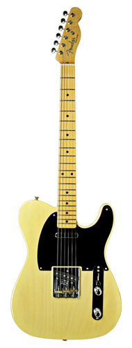 GUITARRA FENDER 52 TELECASTER CUSTOM NOS LTD EDITION 923-5000-941 FADED NOCASTER BLONDE