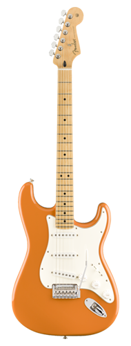 GUITARRA FENDER PLAYER STRATOCASTER MN 014-4502-582 CAPRI ORANGE