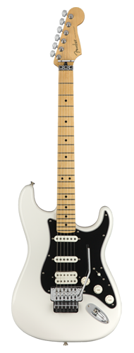 GUITARRA FENDER PLAYER STRATOCASTER FLOYD ROSE HSS MN 114-9402-515 POLAR WHITE