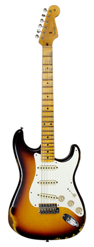 GUITARRA FENDER 59 STRATOCASTER TIME MACHINE HEAVY RELIC LTD EDITION 923-5000-815 F.CHOC 3TSB