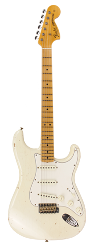GUITARRA FENDER 68 STRATOCASTER TIME MACHINE RELIC LTD EDITION 923-5000-517 AGED OLYMPIC WHIT