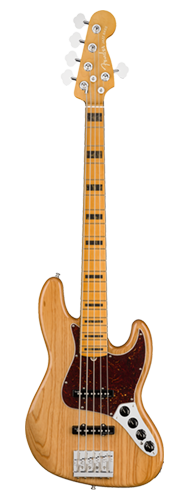 CONTRABAIXO FENDER AM ULTRA JAZZ BASS V MAPLE 019-9032-734 AGED NATURAL