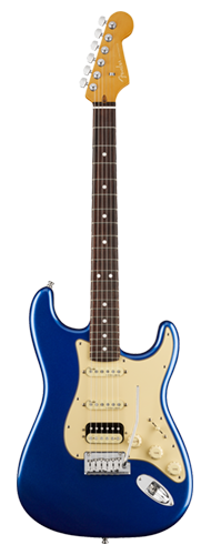 GUITARRA FENDER AM ULTRA STRATOCASTER HSS ROSEWOOD 011-8020-795 COBRA BLUE