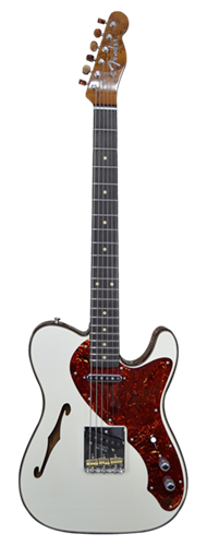 GUITARRA FENDER TELECASTER THINLINE ARTISAN NOS LTD EDITION 923-5000-994 AGED OLYMPIC WHITE