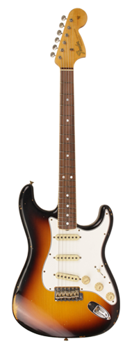GUITARRA FENDER 67 STRATOCASTER TIME MACHINE RELIC 923-5000-834 FADED 3-COLOR SUNBURST