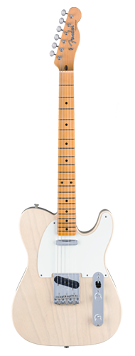 GUITARRA FENDER 58 TELECASTER VINTAGE CUSTOM TOP-LOAD LTD EDIT 923-5000-861 AGED WHITE BLONDE