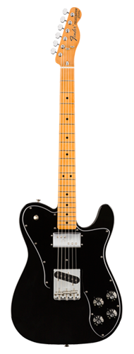 GUITARRA FENDER VINTERA 70S TELE CUSTOM MAPLE 014-9722-306 BLACK