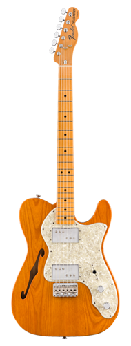 GUITARRA FENDER VINTERA 70S TELE THINLINE MAPLE 014-9742-328 AGED NATURAL