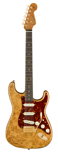 GUITARRA FENDER STRATOCASTER ARTISAN ROASTED ALDER LTD EDITION 923-5000-851 NAT MAPLE BURL