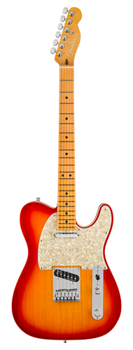 GUITARRA FENDER AM ULTRA TELECASTER MAPLE 011-8032-773 PLASMA RED BURST