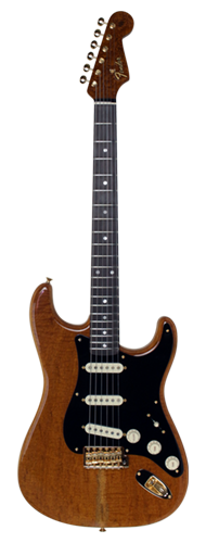 GUITARRA FENDER STRATOCASTER ARTISAN FIGURED MAHOGANY TOP ROASTED MPL BODY 923-5000-591 A NAT