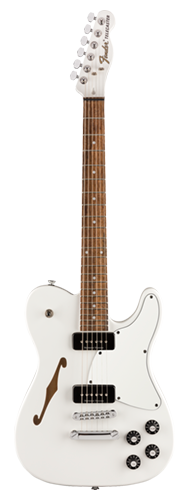 GUITARRA FENDER SIG SERIES JIM ADKINS JA-90 TELECASTER THINLINE 026-2354-580 WHITE