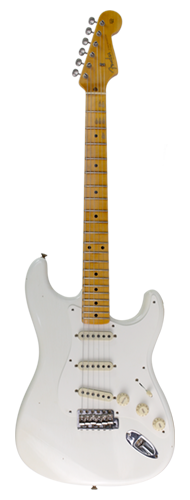 GUITARRA FENDER 58 STRATOCASTER NAMM LTD ED JOURNEYMAN RELIC 923-1011-957 AGED WHITE BLONDE