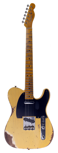 GUITARRA FENDER 70 BROADCASTER LTD EDITION 70TH ANNIVERSARY 923-5001-123 AGED NOCASTER BLONDE