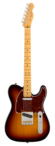 GUITARRA FENDER AM PROFESSIONAL II TELECASTER MN 011-3942-700 3-COLOR SUNBURST