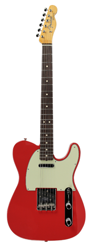 GUITARRA FENDER 63 TELECASTER LTD EDITION NOS 923-5001-210 FIESTA RED