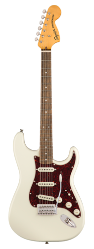 GUITARRA FENDER SQUIER CLASSIC VIBE 70S STRATOCASTER LR - 037-4020-501 - OLYMPIC WHITE