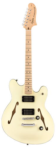 GUITARRA FENDER SQUIER AFFINITY STARCASTER MN - 037-0590-505 - OLYMPIC WHITE