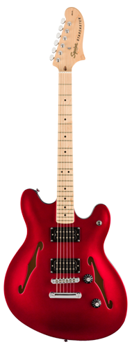 GUITARRA FENDER SQUIER AFFINITY STARCASTER MN - 037-0590-509 - CANDY APPLE RED