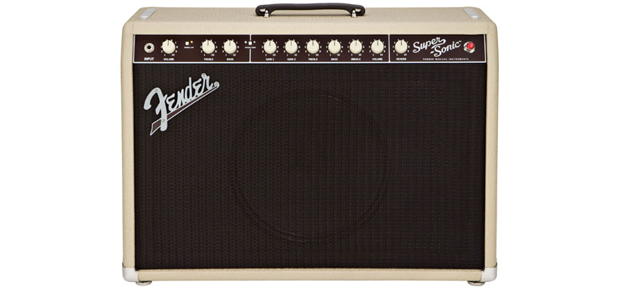 COMBO FENDER SUPER-SONIC 22 BLONDE - 216-0000-400