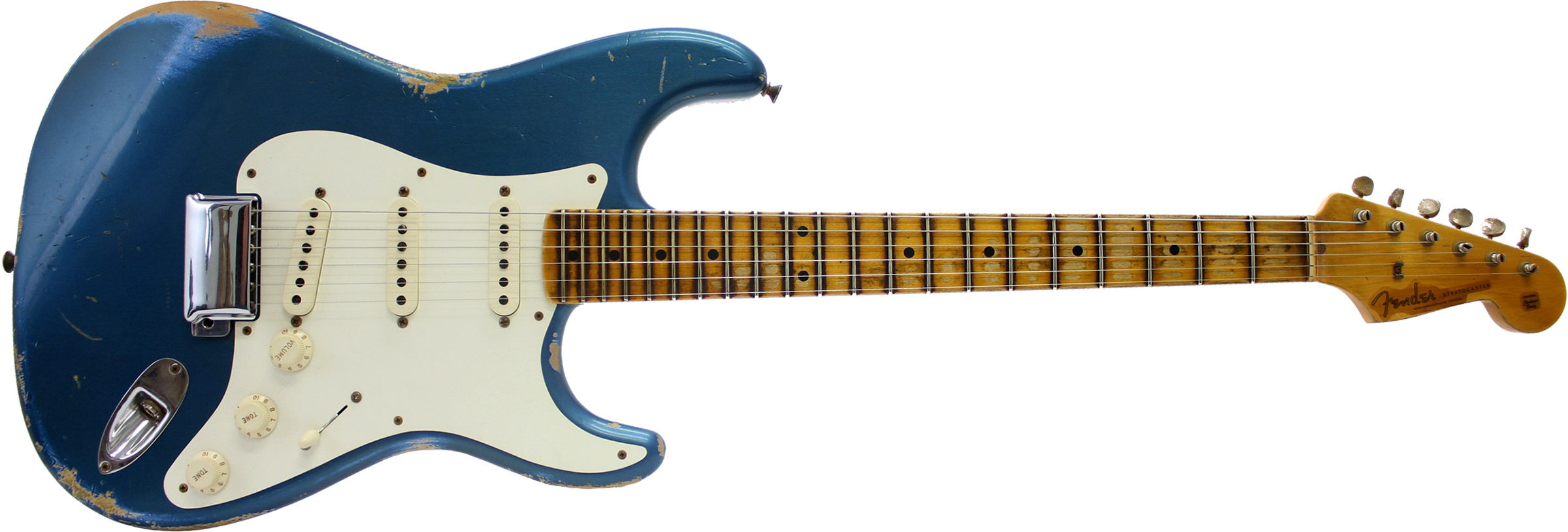 GUITARRA FENDER 56 STRATOCASTER HEAVY RELIC TIME MACHINE 151-1602-802 AGED LAKE PLACID BLUE