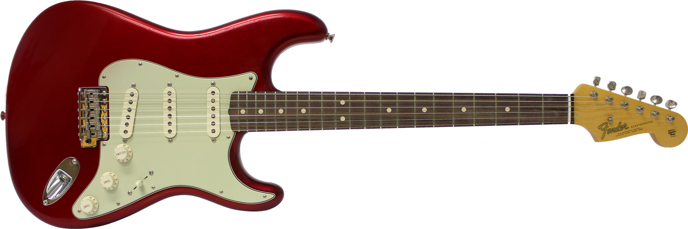 GUITARRA FENDER 64 STRATOCASTER ANNIVERSARY CLOSET CLASSIC 151-9640-809 CANDY APPLE RED