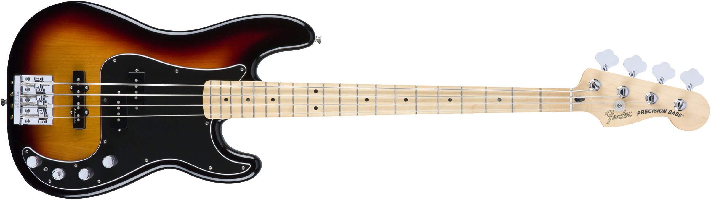 CONTRABAIXO FENDER DELUXE ACTIVE PJ BASS SPECIAL MAPLE 014-3412-300 3-COLOR SUNBURST