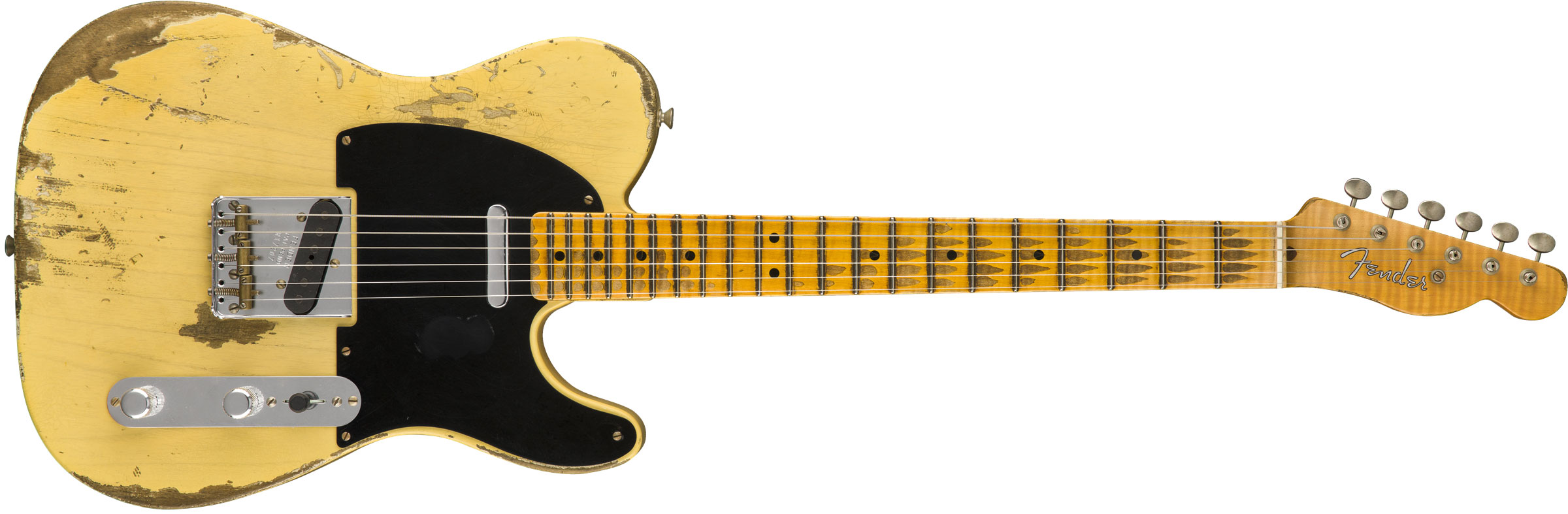 GUITARRA FENDER 51 NOCASTER HEAVY RELIC LTD 2018 COLLECTION 923-5000-521 FADED NOCASTER BLOND