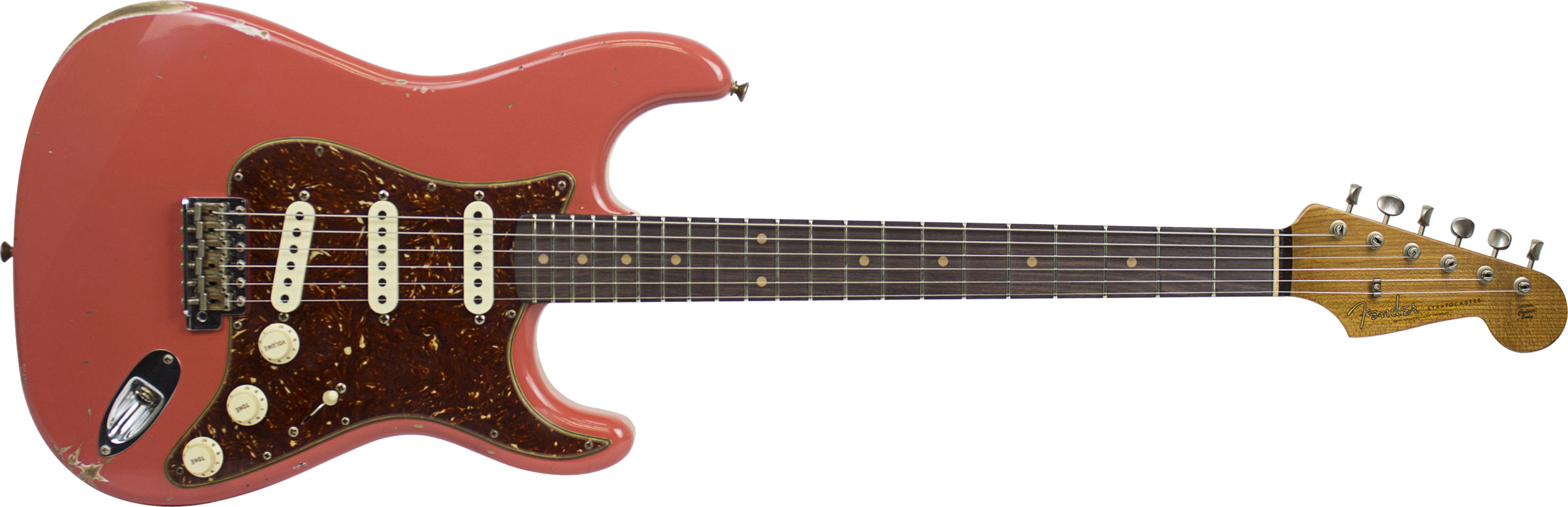 GUITARRA FENDER 60 STRATOCASTER ROASTED RELIC LTD EDITION 923-5000-670 FADED AGED FIESTA RED