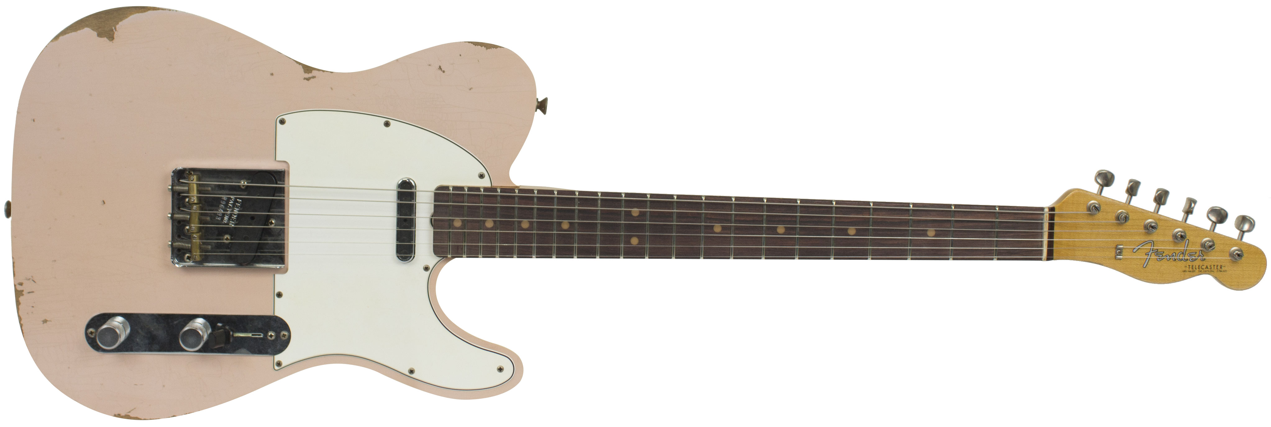 GUITARRA FENDER 60S TELECASTER CUSTOM RELIC LTD EDITION 923-5000-699 FADED AGED SHELL PINK